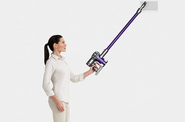 amazon dyson vacuum and air purifier easter week sales v6 animal cordless stick cleaner purple 03