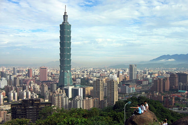 earthquake resistant buildings taipei 101 in  taiwan