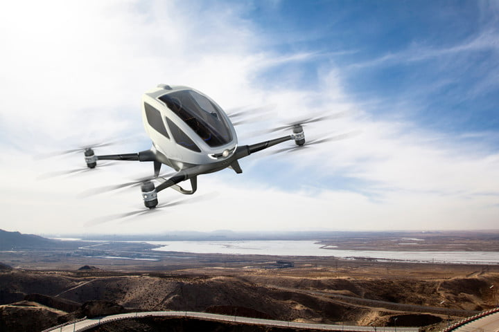 EHang 184 Most Expensive Drones