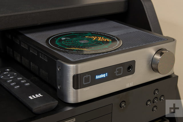 Elac Integrated Amplifier review cd scale