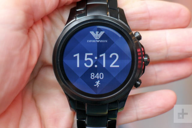 Emporio Armani EA Connected Smartwatch review watchface shapes