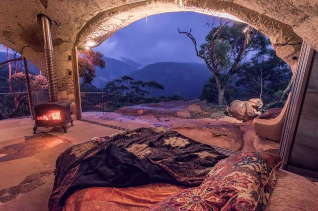 enchanted cave airbnb