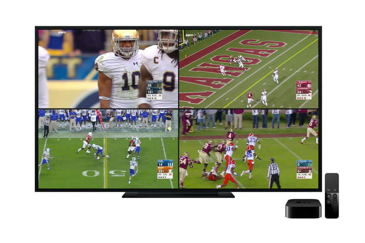espn app update stream four live videos screens no vignette