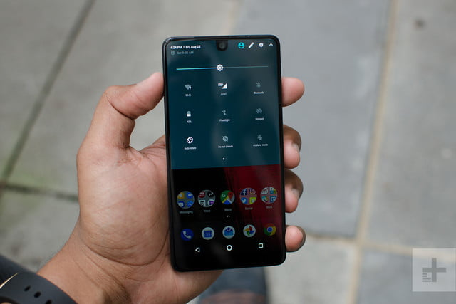 Essential phone review shortcuts