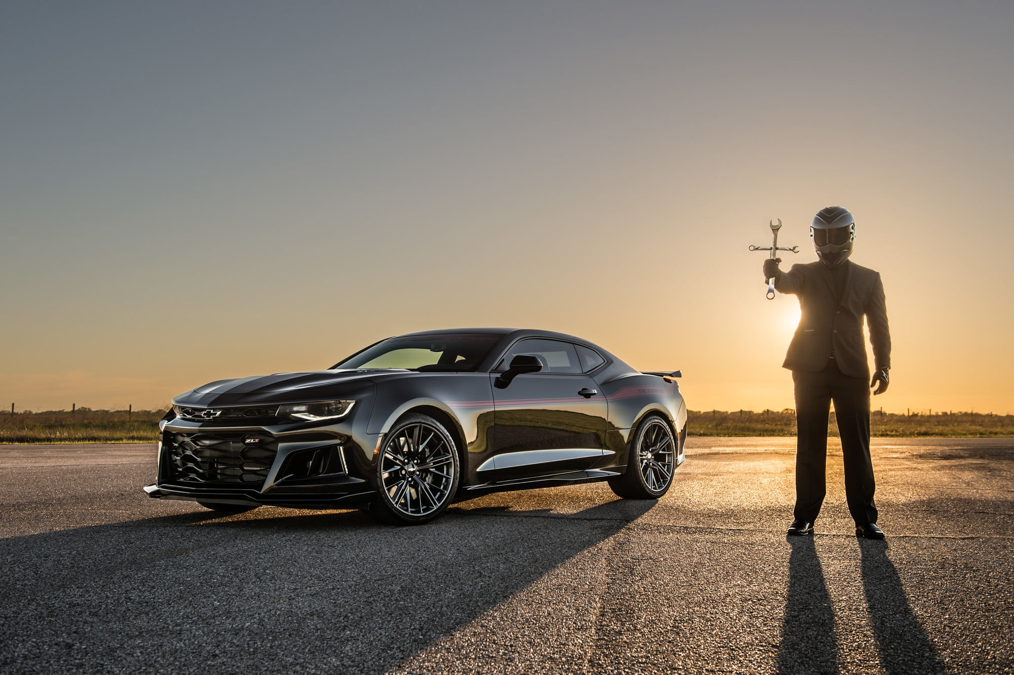 Demon-slaying Hennessey Exorcist Camaro Hits Top Speed of 217 mph ...