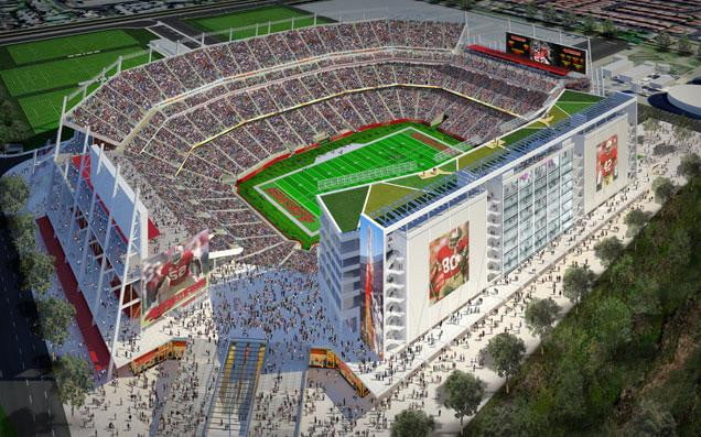 77f578410 Yahoo teams with San Francisco 49ers for a techier Levi s Stadium ...