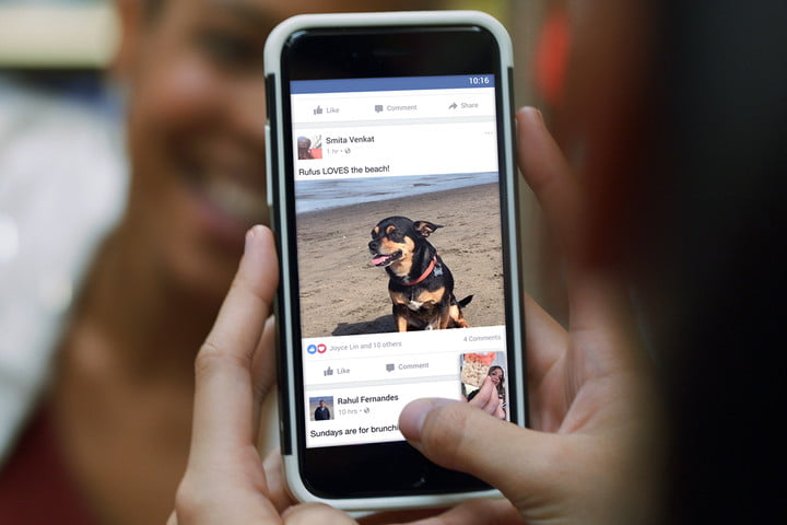 facebook mobile update news feed