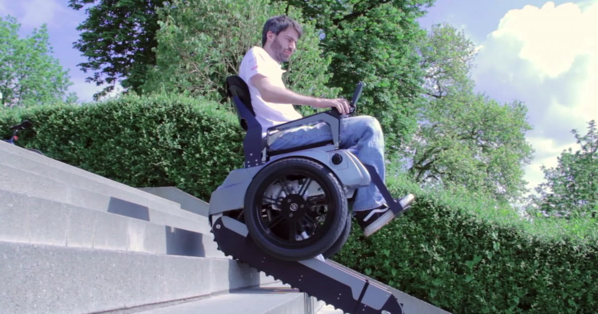 Scalevo Is the First Fully Automated Stair-climbing ...