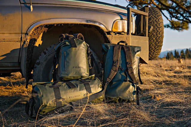 Filson's Dry Bags: Stylish, rugged, and ready