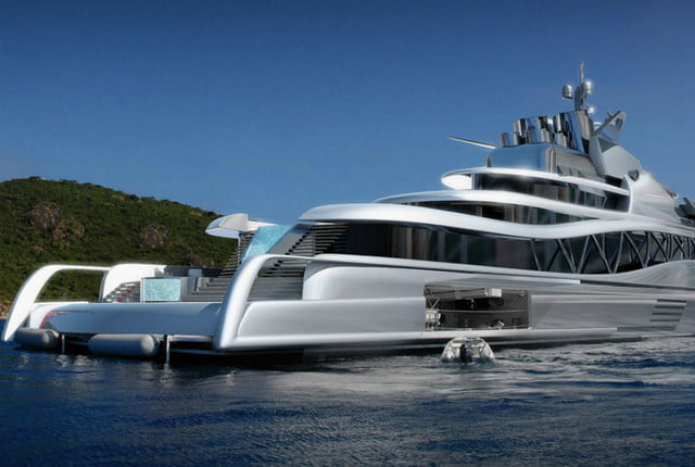 Superyachts, concept yachts, largest yachts
