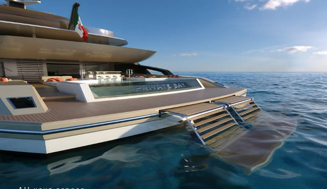 luxury yachts the worlds best super fincantieri private bay 08