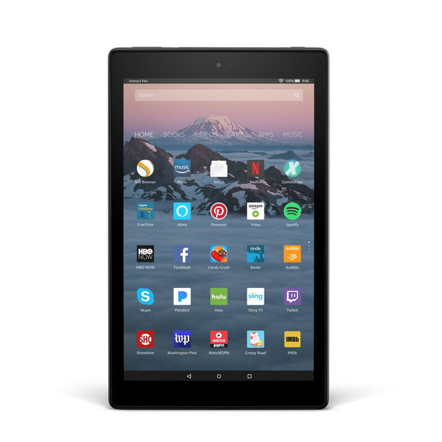 amazon introduces fire hd 10 vertical front
