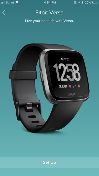 how to sync a fitbit tracker smartwatch setup 2