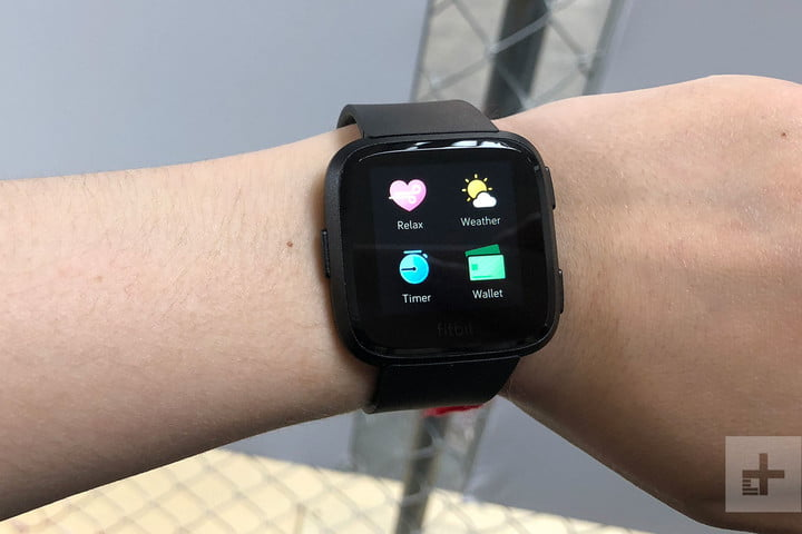 how to turn off the fitbit versa