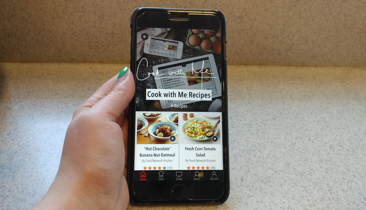 In the kitchen helps you cook with voice commands digital trends food network in the kitchen forumfinder Gallery