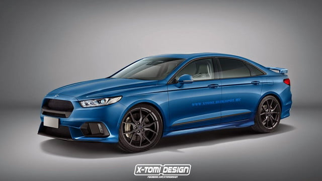 this unofficial rendering of a ford taurus rs makes us. Black Bedroom Furniture Sets. Home Design Ideas
