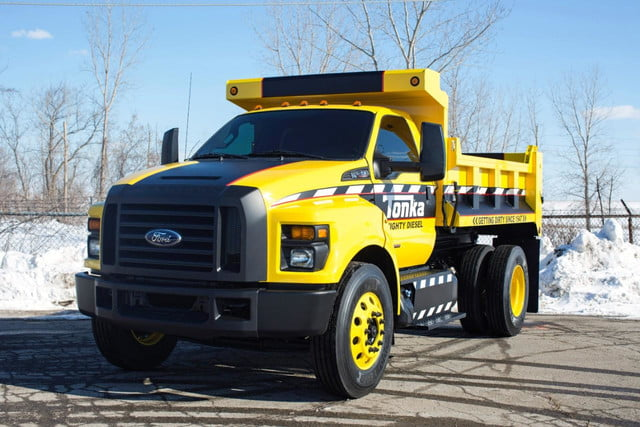 Ford F 750 Tonka Dump Truck Official Pictures And Specs Digital