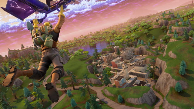 fortnite available now free nintendo switch  3