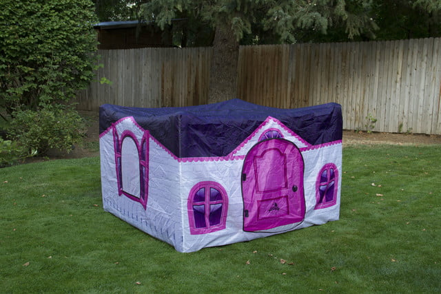 fortsy is an inflatable play fort on kickstarter playhouse