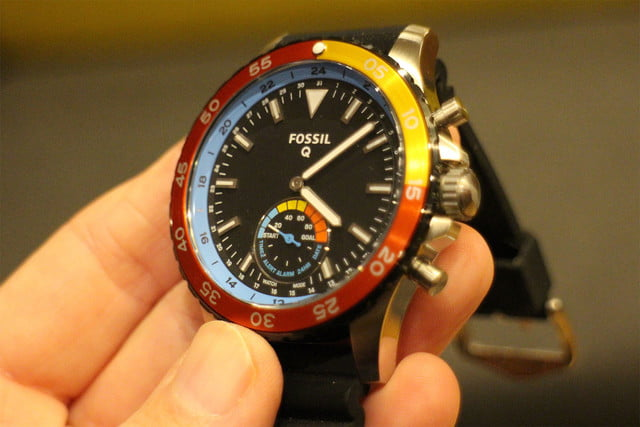 fossil q crewmaster front angle