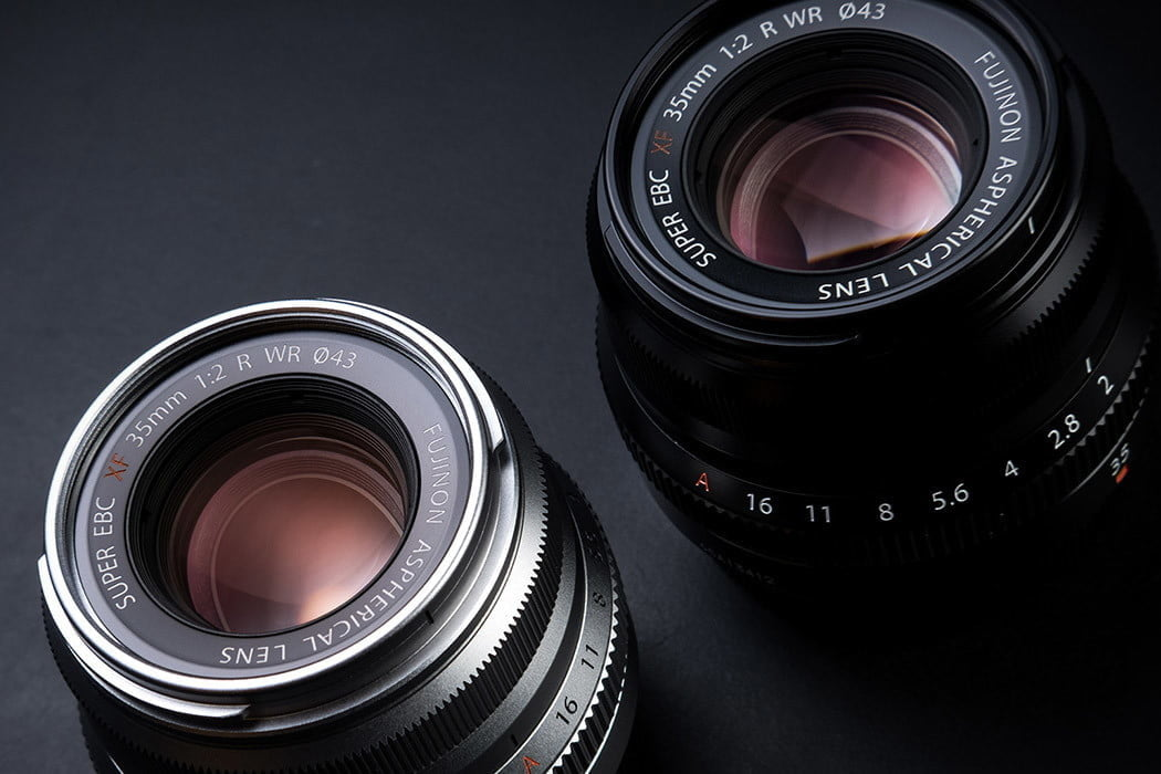 best cheap mirrorless lenses fujifilm xf 35mm f2 wr