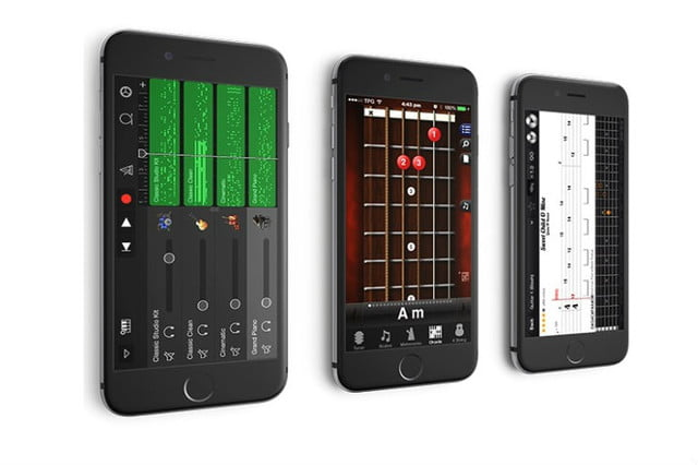 Fusion guitar, smart guitar, electric guitar, iphone guitar, iphone app