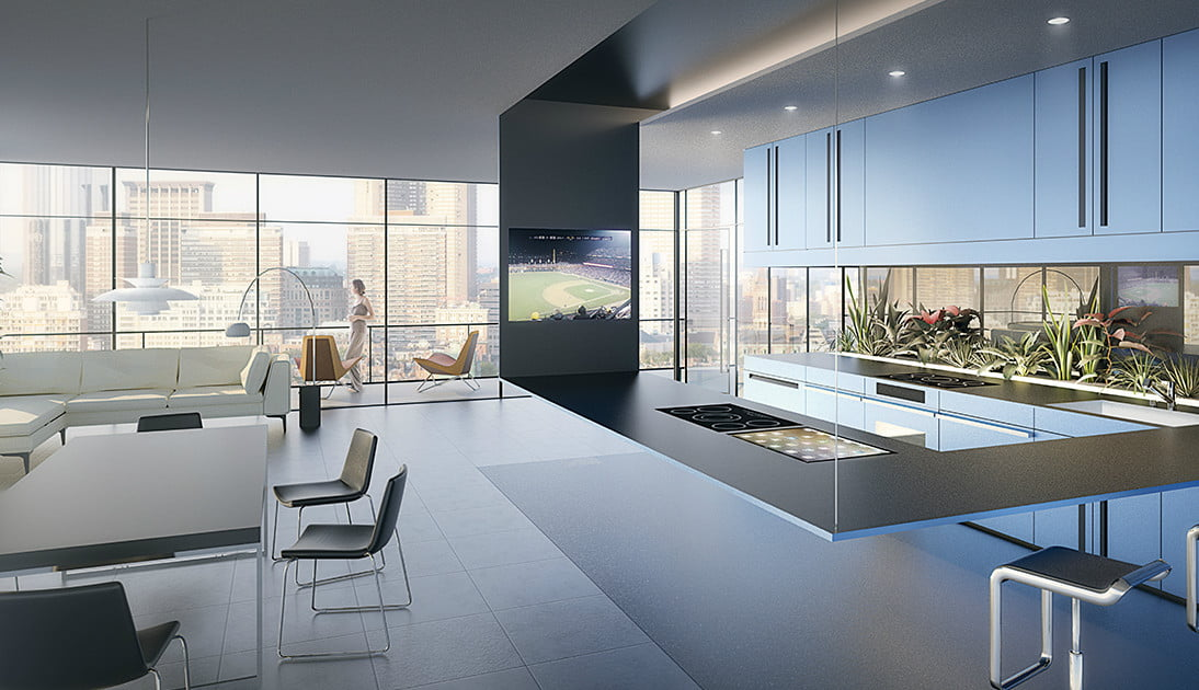 Peer Into Panasonic S Kitchen Of The Future Today