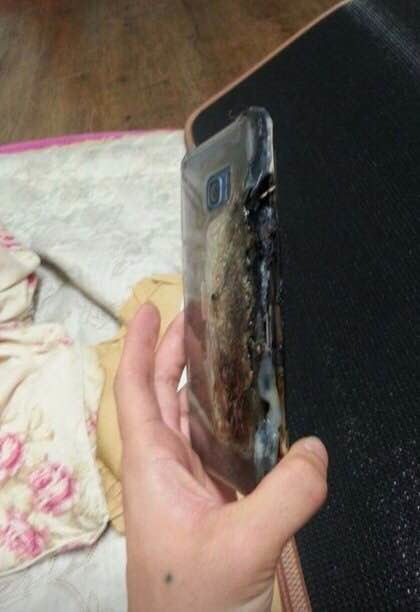 samsung galaxy note 7 exploded 2