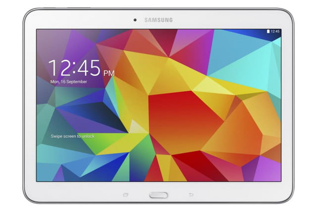 Galaxy Tab4 10 white front