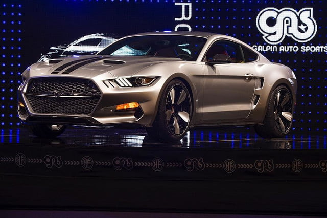 galpin auto sports unveils first production rocket mustang galpinrocket exterior 14