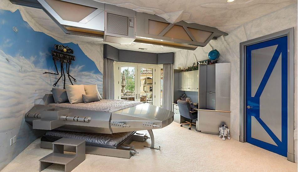 The Best Star Wars Themed Room Is In This 149 Million Home