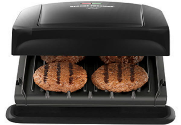 walmart deals on george foreman electric grills and griddles 4 serving removable plate grill panini press 1