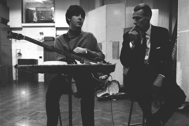 george martin producer fifth beatle dies beatles 8