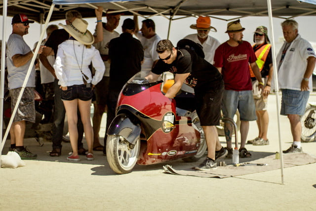 Getting ready for a speed run at El Mirage