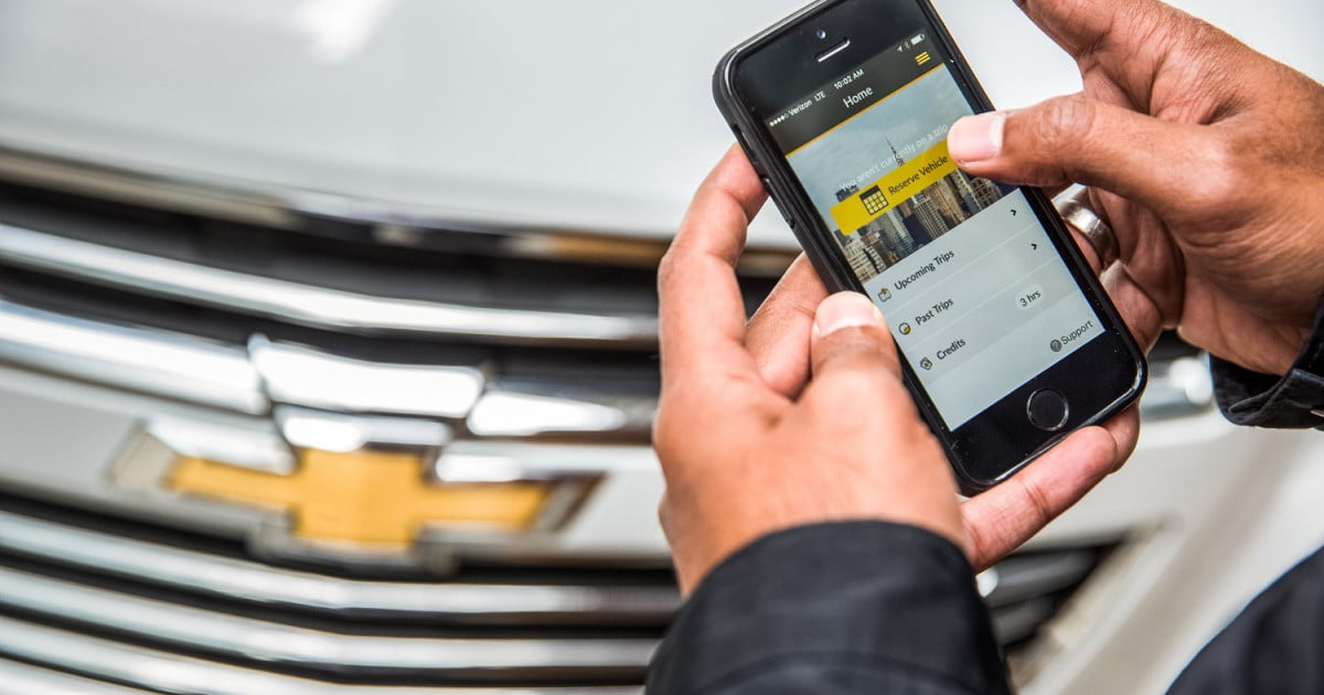 General motors launches car sharing pilot program in nyc for General motors vehicle purchase program
