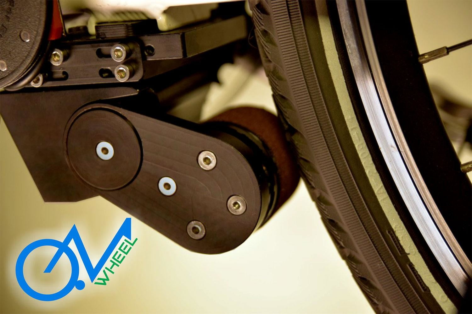 This Ingenious Clip On Motor Gives Any Bike An Electric Boost
