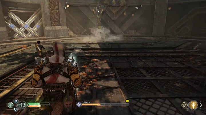 god of war valkyries guide use atreus and keep the valkyries out of the air