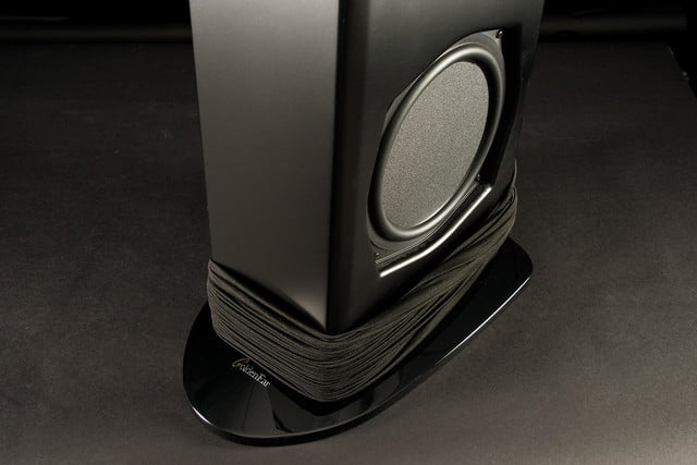 GoldenEar Technology Triton Seven review stand cover