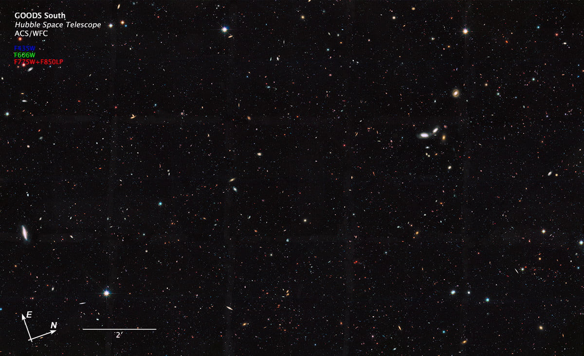 Hubble finds 10 times the number of galaxies in our universe, making Earth but a grain of sand