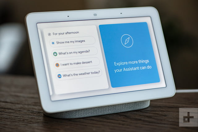 Google Home Hub Review Small Simple Smart Digital Trends