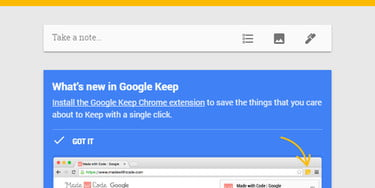 Google Keep for Chrome Adds Doodle Functionality | Digital