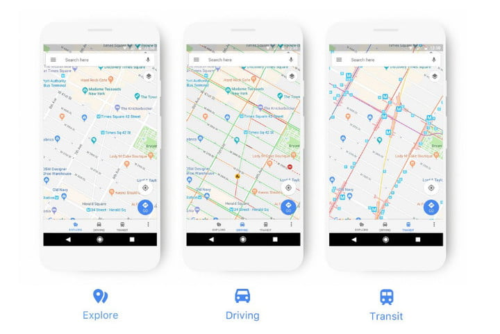 Google Maps Navigates Its Way To A Cleaner More Useful Design
