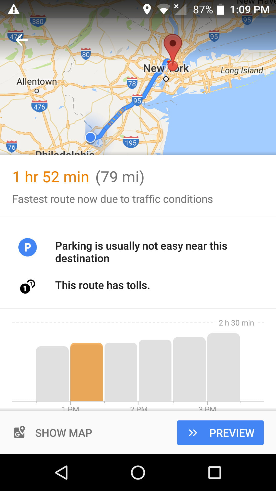 google maps will now tell you the best time to hit the road Google Maps Travel Time google maps future travel time eta 2 google maps travel time