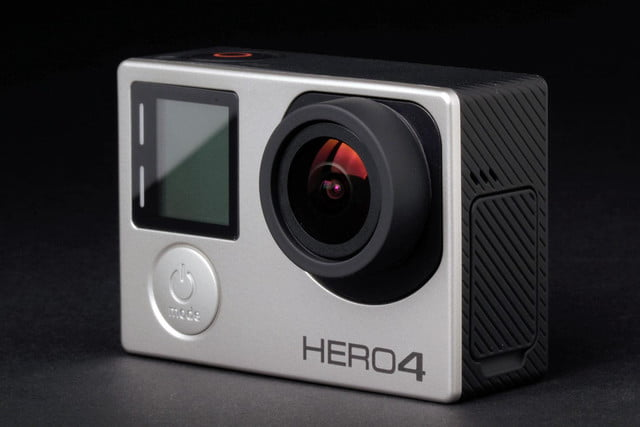 GoPro Hero4 Silver front angle