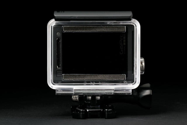 GoPro Hero4 Silver screen