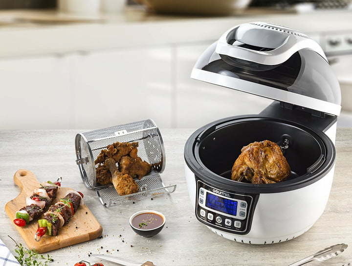 All In One Kitchen Appliance.Assistant Powered Gourmia Gkm9000 Is All Your Kitchen Tools In One