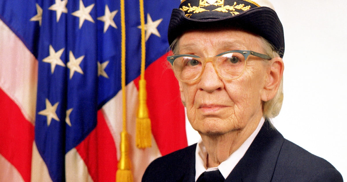 Grace Hopper The U S Navy Rear Admiral That Invented The
