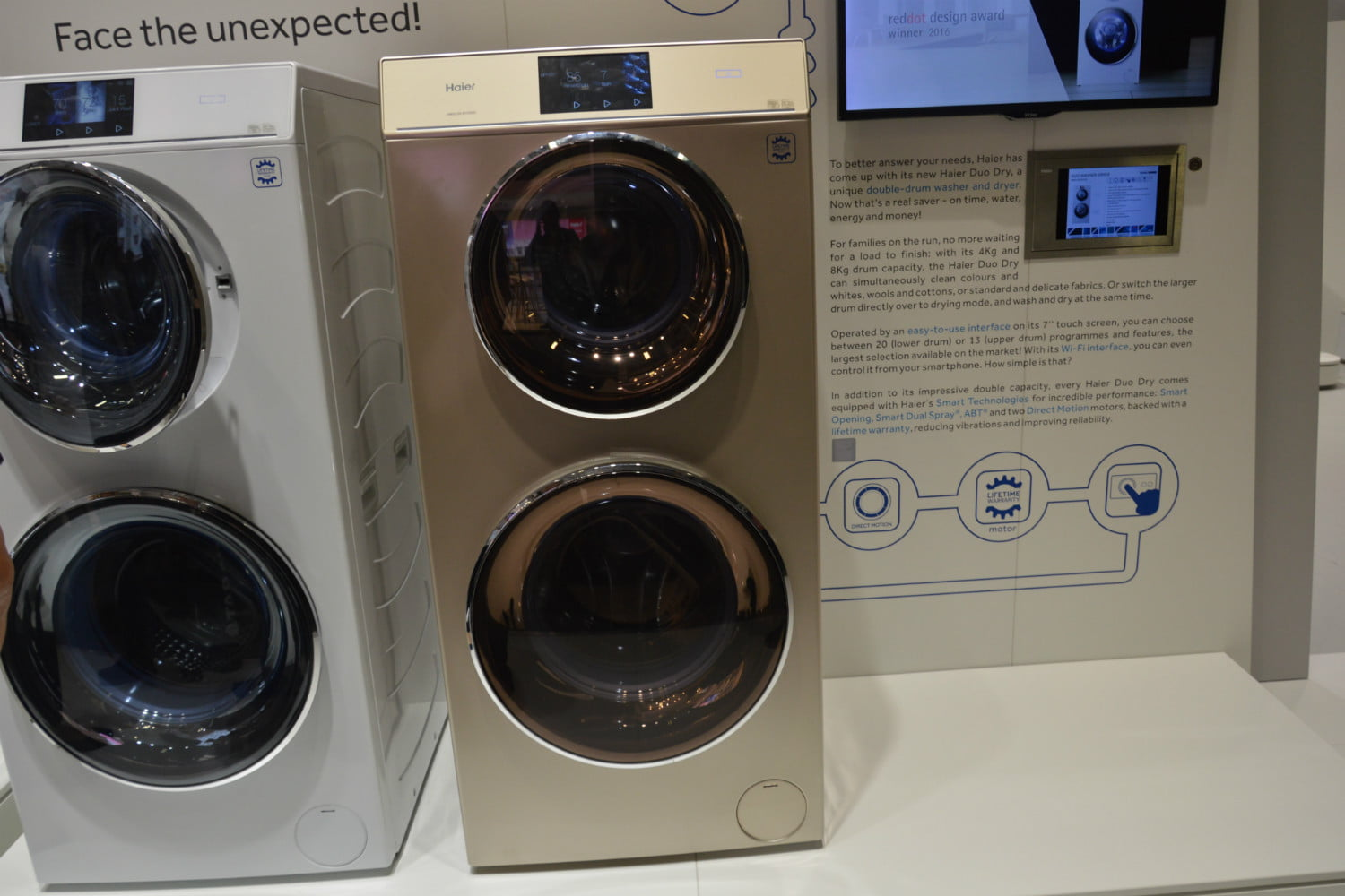 Haiers Duo Dry Is A Washer And WasherDryer Combo In One Digital - Abt washers