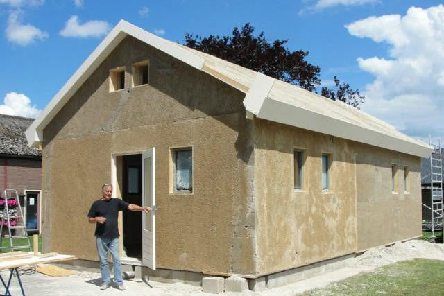 Green Building Material Hempcrete Could Catch On In U S