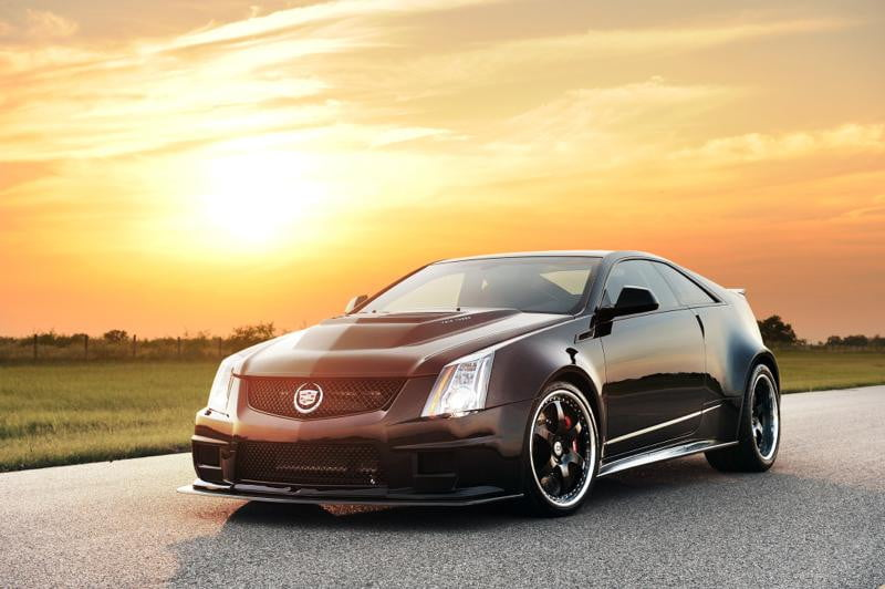 Hennessey Vr1200 Twin Turbo Coupe A Cadillac With 1 200